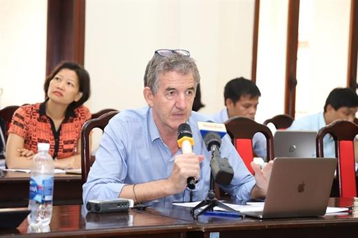 Raymond Mallon, Senior Policy Advisor for the Australia-Vietnam Economic Reform (Aus4Reform Programme)