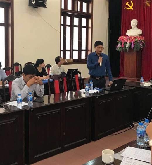 Ông Trần Đức Chiều, Phó trưởng ban Ban Nghiên cứu cải cách và phát triển doanh nghiệp, CIEM  phát biểu tại Hội thảo