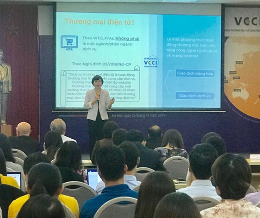 Nguyễn thị Thu Trang, director of Việt Nam Chamber of Commerce and Industry's WTO Centre, told the conference