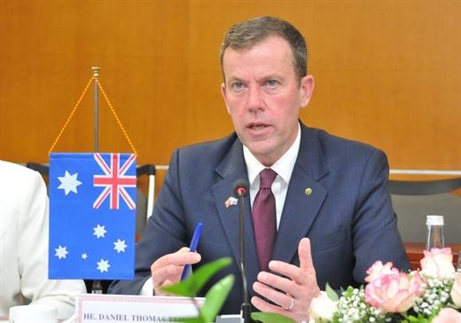 Bộ trưởng Thương mại và Du lịch Australia, ông Dan Tehan.